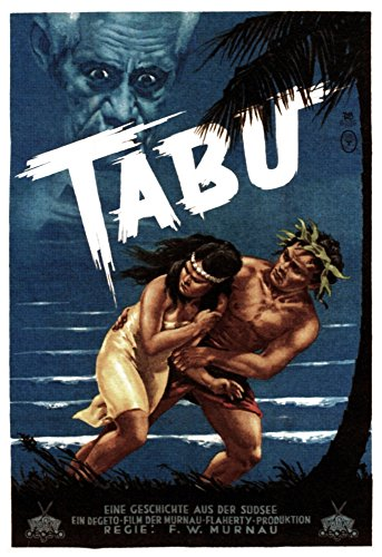 Posterazzi Aka Tabu: A Story of The South Seas from Left: Matahi Anne Chevalier On German Art 1931. Movie Masterprint Poster Print, (11 x 17) (Tabu A Story Of The South Seas)