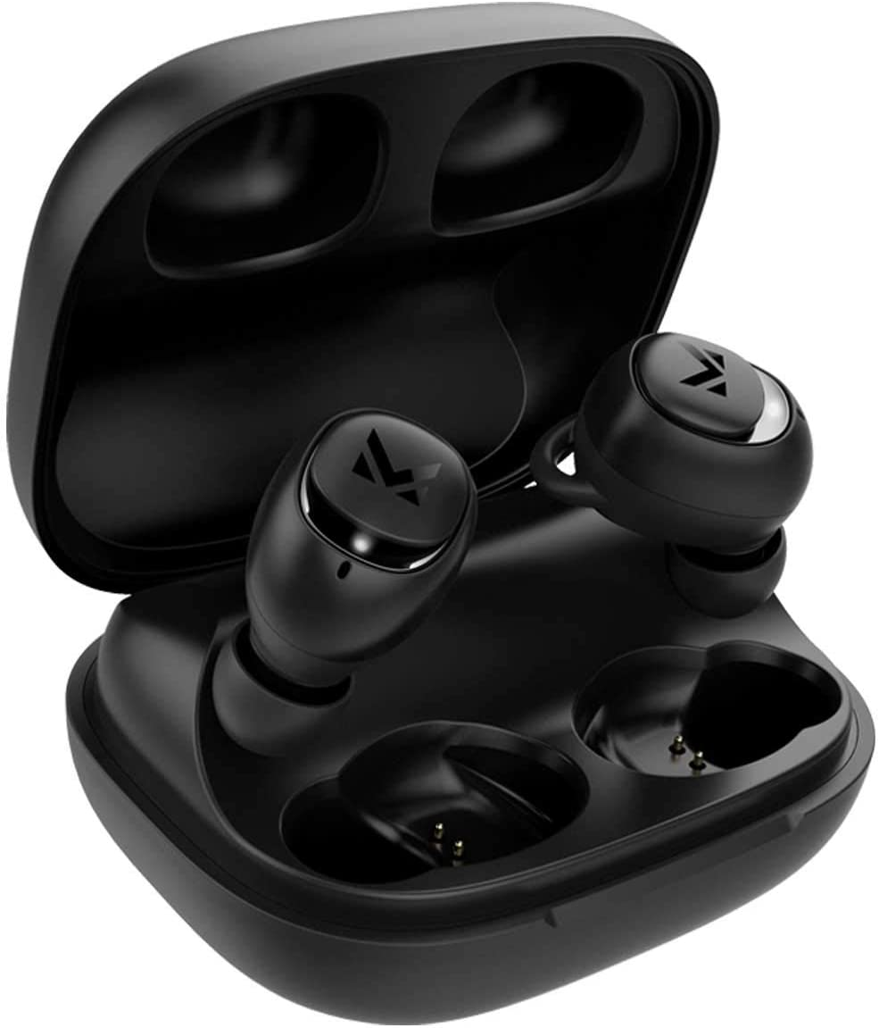 MULTITED RX Wireless Earbuds Bluetooth 5.0 - Designed for Your Workout, Gym, Hiking with Waterproof IPX6, 8 Hours Playtime Per Charge, Hi-Fi Well-Balanced Sound, Bass and Built-in Microphone with CVC