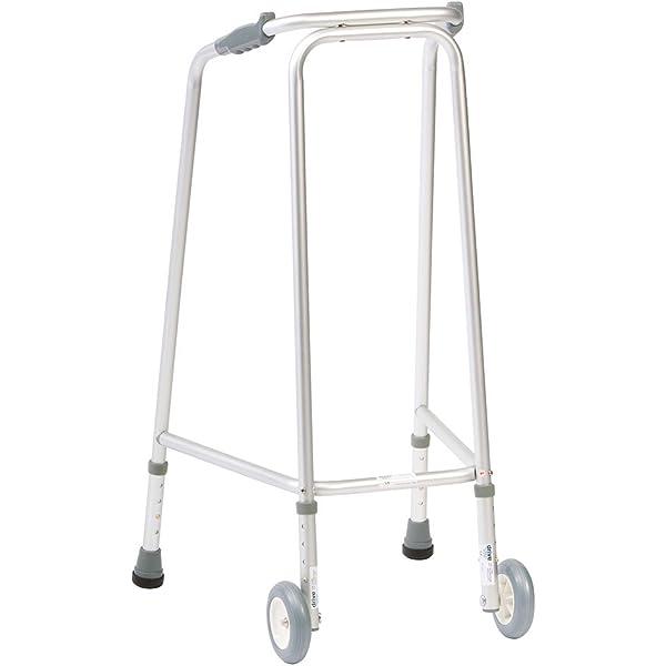 NRS Healthcare Ultra andador (con ruedas) Altura Ajustable ...