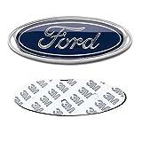 ford edge logo - DIYcarhome Ford Emblem, Ford F150 Dark Blue Tailgate Badge Oval 6