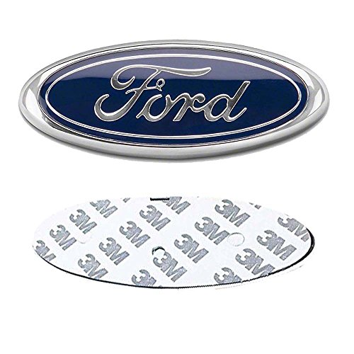 - DIYcarhome Ford Front Grille Tailgate Emblem, Oval 6