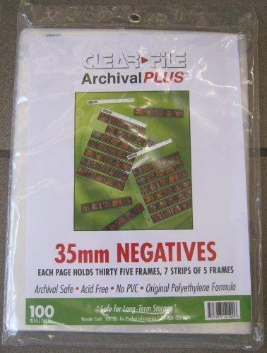 Vue All V8020 Vue-All 35M Negative Saver Side Load Pack of 100