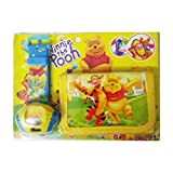 Sheena's Kid Gift Wallet Lanyard and Watch Tiger and Bear Birthday Boy Or Girl 3 Pcs Asstd