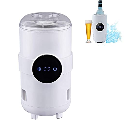 YASHANG Taza del Mini Refrigerador, Portátil De Escritorio ...