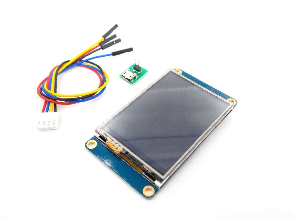 EVERYDI 3.2'' Nextion HMI Intelligent Smart USART UART Serial Touch TFT LCD Module Display Panel For Raspberry Pi 2 A+ B+ Arduino Kits