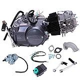 PanelTech 125cc Engine 4 Stroke Engine Single Cylinder Air Cooled Engine Motor For Honda CRF 50 70 XR50 70 Z50 Z50R Long Case