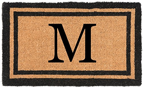Nance Industries YourOwn Monogrammed Welcome Mat (Insert Letter Variation), 22