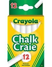 Crayola 12 Swan White Chalk Arts & Crafts