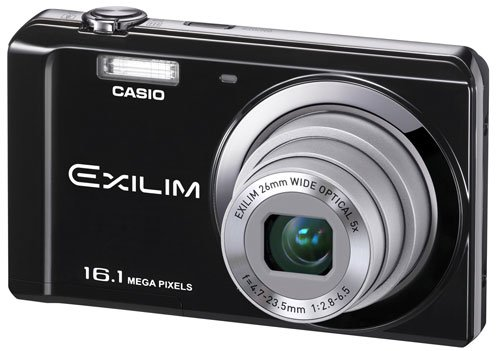 Casio Digital Camera Exilim EX-ZS6 BK, Black