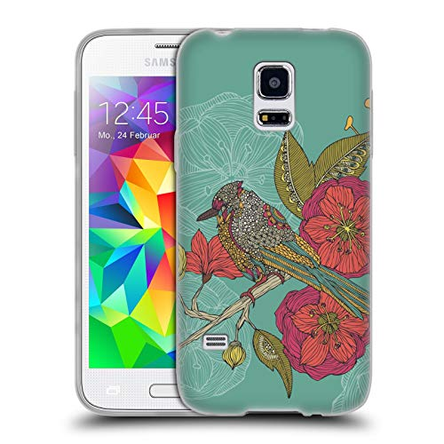 Official Valentina Contented Constance Birds Soft Gel Case for Samsung Galaxy S5 Mini