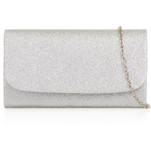 Xardi London , Pochette pour femme silver