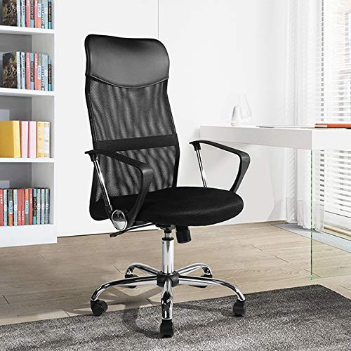 Homy casa Ergonomic High Back Mesh Computer Office Chairs 360 Swivel Black HOMYCASA