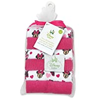 Minnie Mouse Terrycloth Washcloths
