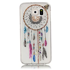 Galaxy S6 Case, Ngift [Dream Catcher] Protective Case [Shock Absorbent] Soft Flexible TPU Rubber Flexible Slim Skin Soft Case for Samsung Galaxy S6 [Not for Galaxy S6 Edge]