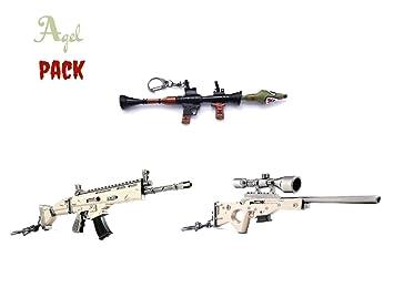 Amazon.com: Agel - Juego de 3 pistolas de rifle de cicatriz ...