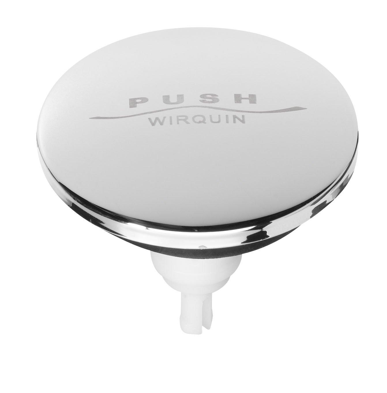 Wirquin sp9261s clapet de lavabo en inox quick clac diametre 6 5cm amazon fr bricolage