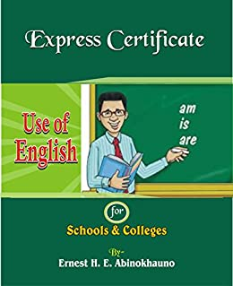 amazoncom express certificate use of english express