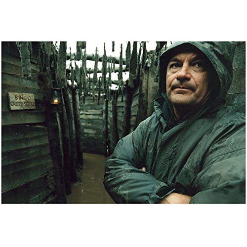A Very Long Engagement Director Jean-Pierre Jeunet in Green Coat Arms Crossed 8 x 10 inch photo