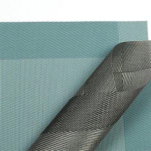 Placemat,U'Artlines Crossweave Woven Vinyl Non-slip Insulation Placemat Washable Table Mats Set of 6 (6pcs placemats, Grey) by U'Artlines (Image #7)