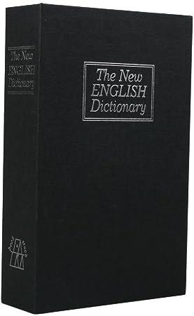 Ailiebhaus Caja Fuerte Libro falsa libro escondite secreto Dinero libro Hucha, negro, 18*11.5*5.5: Amazon.es: Hogar