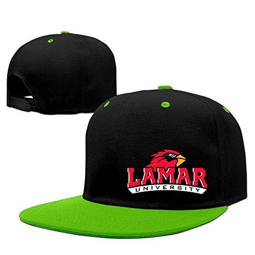 HIPHOP White Adjustable Lamar University Cardinals Hats Men's