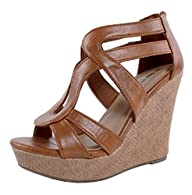 Top Moda Lindy-1 Wedges Sandals