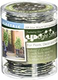 The Gerson Company 38656 20' Outdoor Electric Micro LED Light String, Cool White