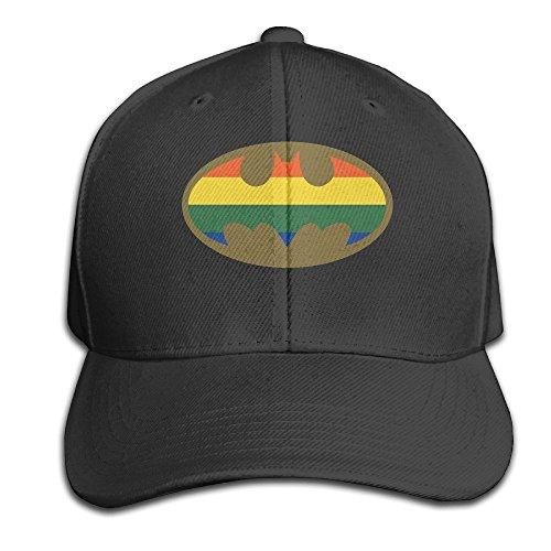 MaNeg Bathero&LGBT Adjustable Hunting Peak Hat & - Del Costa Orlando Mar