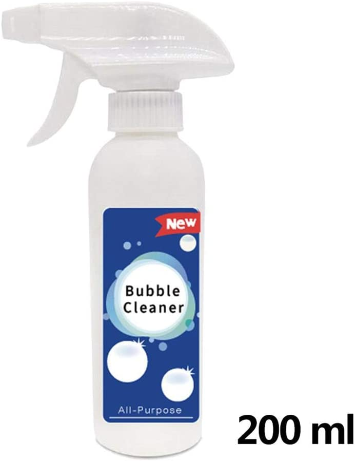 Kitchen Grease Cleaner Multifunctional Foam Cleaner Spray Cleaning for Home All-Purpose Bubble Cleaner Removes