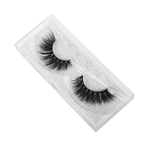 NewKelly 1 Pair Crisscross 3D False Eyelashes Long Thick Natural Fake Eye Lashes]()