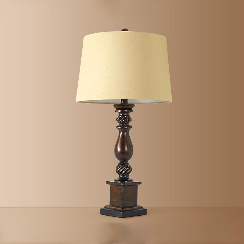 Amerikanischen schlafzimmer nachttischlampe romantische Europäischen stil retro kreative kreative kreative wohnzimmer tischlampe (Farbe   Small) B07J44RMSK   Sale Düsseldorf  e81f83