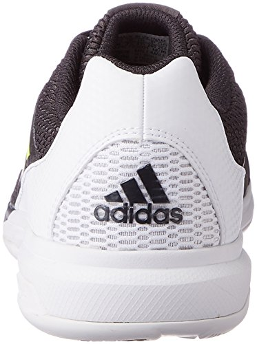 adidas Multido Essence, Zapatillas de Balonmano para Hombre Negro (Utility Black/solar Yellow/ftwr White)