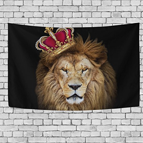 Huge African Lion King Dorm Throw Bedroom Living Room Decorative