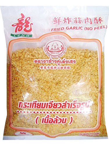 TWIN TUSK HENG Crispy Fried Garlic, 500g/1.1lb (No - Garlic Fried