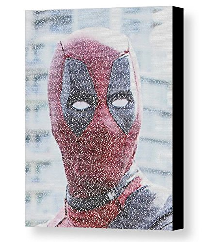 Deadpool Quotes Mosaic Incredible Framed 9x11 Limited Edition Art Print W/coa