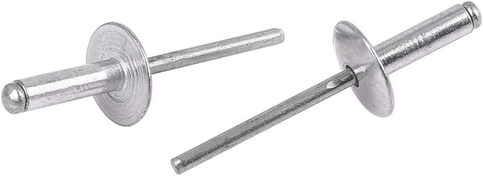 X AUTOHAUX 50pcs 5 X 18 X 16mm Voiture Aluminium Alliage Aveugle Rivets Outil R/éparation