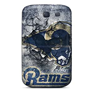 Perfect St. Louis Rams Case Cover Skin For Galaxy S3 Phone Case