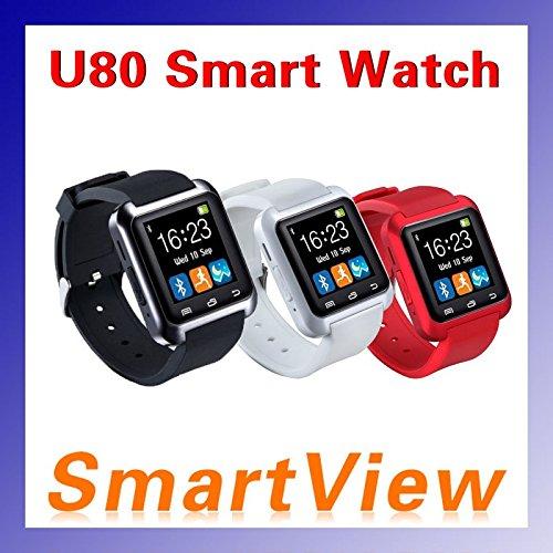 ARBUYSHOP Bluetooth inteligente U80 reloj BT-notificación ...