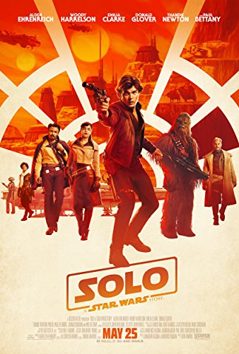 Print U Always New Star Wars Solo Movie Poster 24x36