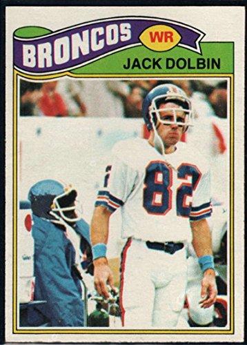 Football NFL 1977 Topps #113 Jack Dolbin RC Broncos