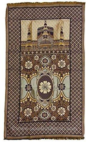Full Size & Lightweight Islamic Prayer Mat Sajjada/Janamaz / Musalla