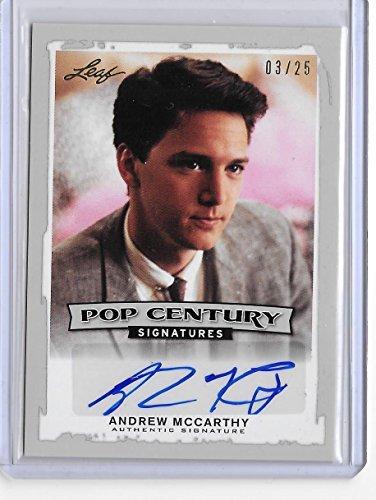 2014 Leaf Pop Century Andrew Mccarthy Auto #/25 Actor Brat ()