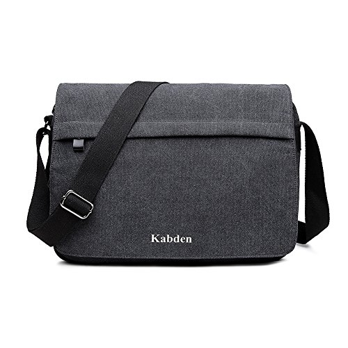 Topfox Men's Multifunctional Canvas Messenger Handbag Outdoo