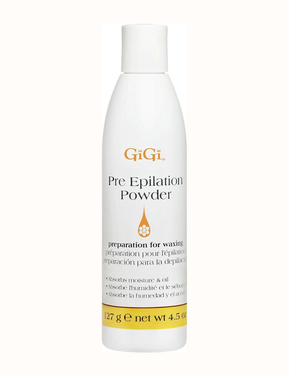 GiGi Pre Epilation Dusting Powder, 4.5 Ounce