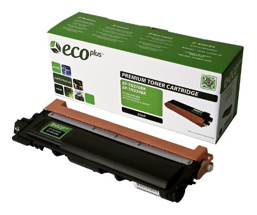 NEW Brother Reman Printer TN210BK ECOPLUS REMAN TONER CARTRIDGE (BLACK) (ECOPlus) by Non-OEM