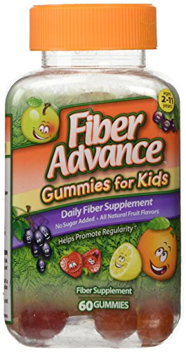 fiber advance gummies no sugar - 1