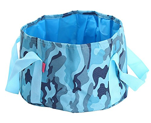 Scheppend-15L-Camping-Hiking-Collapsible-Wash-Basin-Waterproof-Wash-Bucket