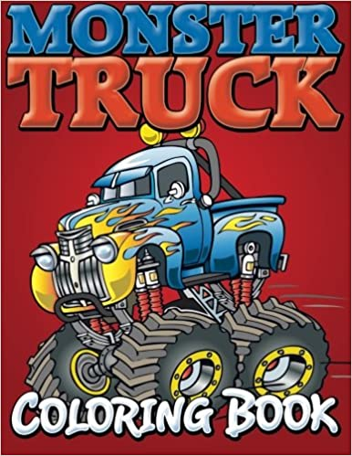 Monster Trucks Coloring Book: Speedy Publishing LLC: 9781634286008 ...