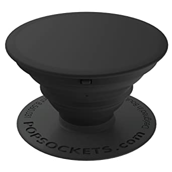 Review PopSockets: Collapsible Grip & Stand for Phones and Tablets - Black