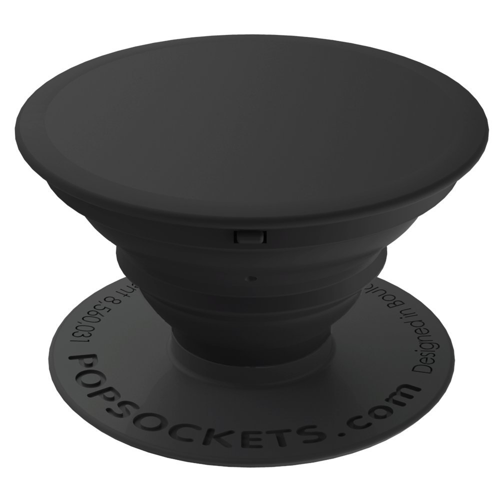 PopSockets: Collapsible Grip & Stand for Phones and Tablets – Black